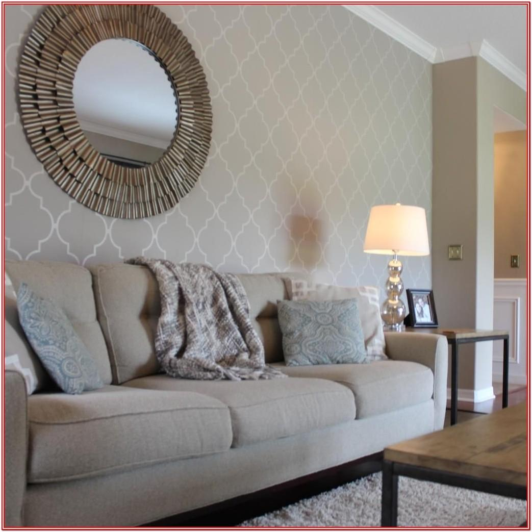 Modern Wallpaper Ideas For Living Room Feature Wall