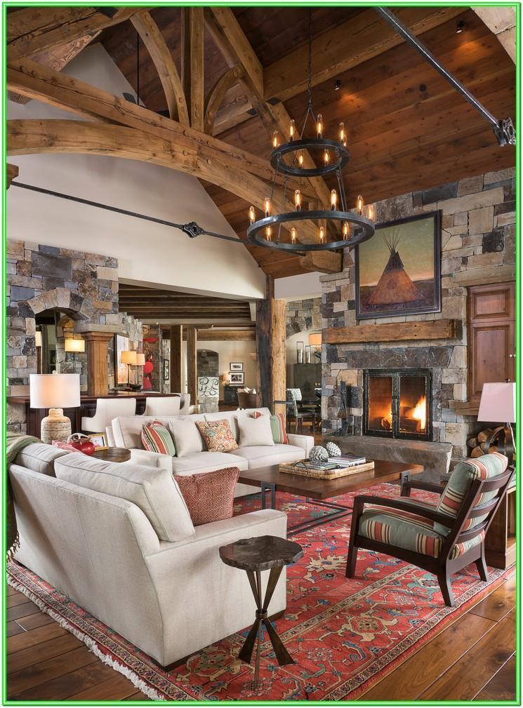 Mountain Cabin Living Room Ideas