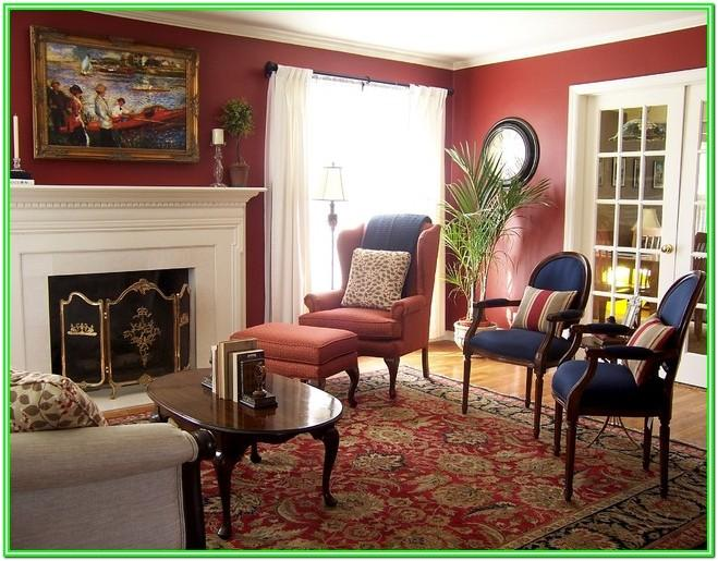 Navy Blue And Red Living Room Ideas