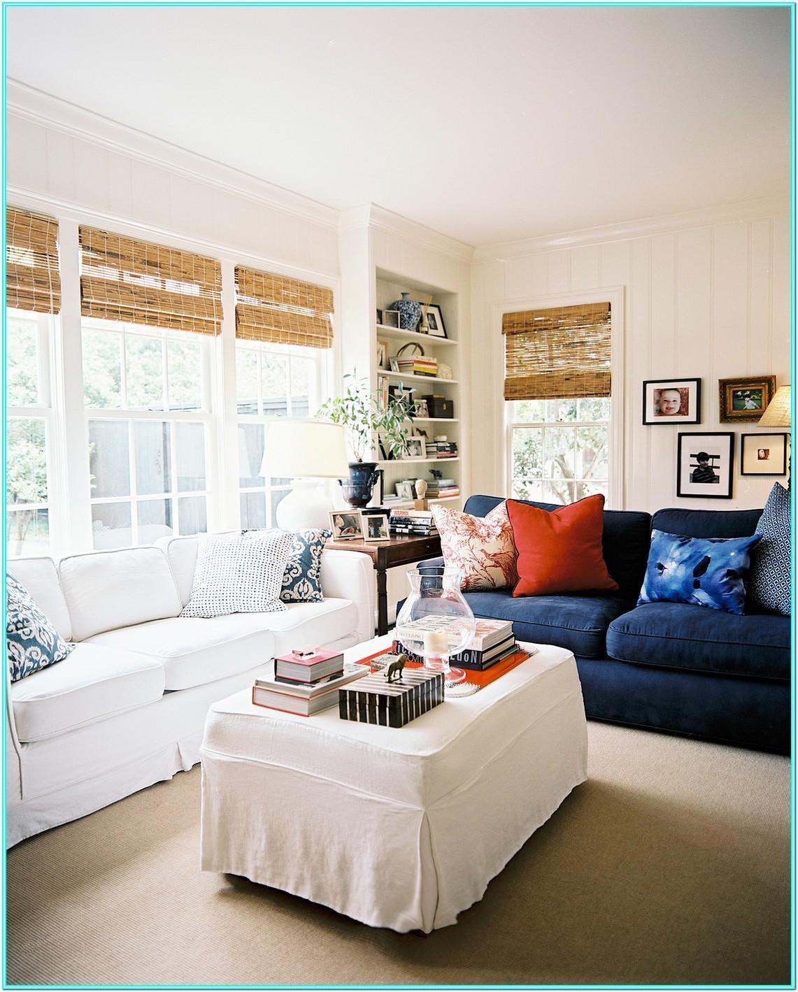 Navy Blue Navy Sofa Living Room Ideas