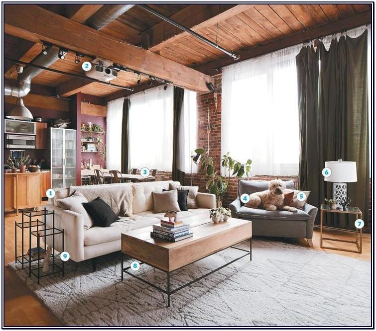 Nyc Loft Living Room Ideas