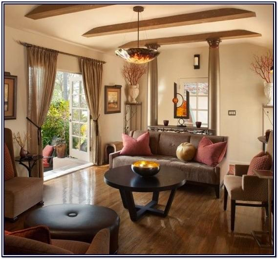 Oak And Black Living Room Ideas