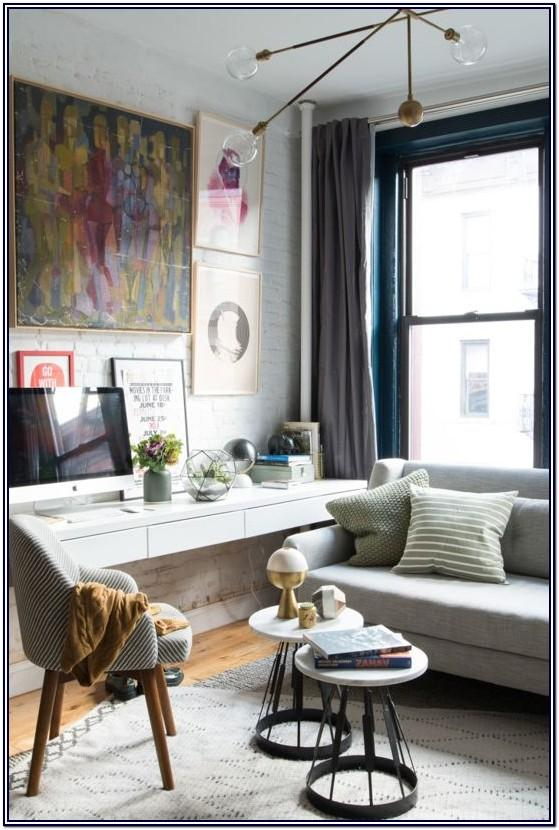Office Desk In Living Room Ideas