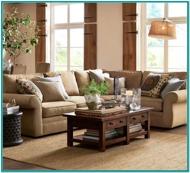 Pottery Barn Living Room Design Ideas