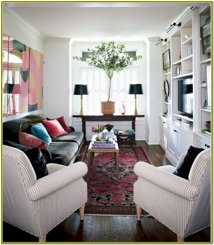 Rectangular Long Living Room Layout Ideas