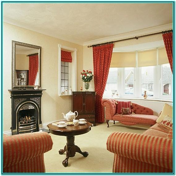 Red And Cream Living Room Ideas