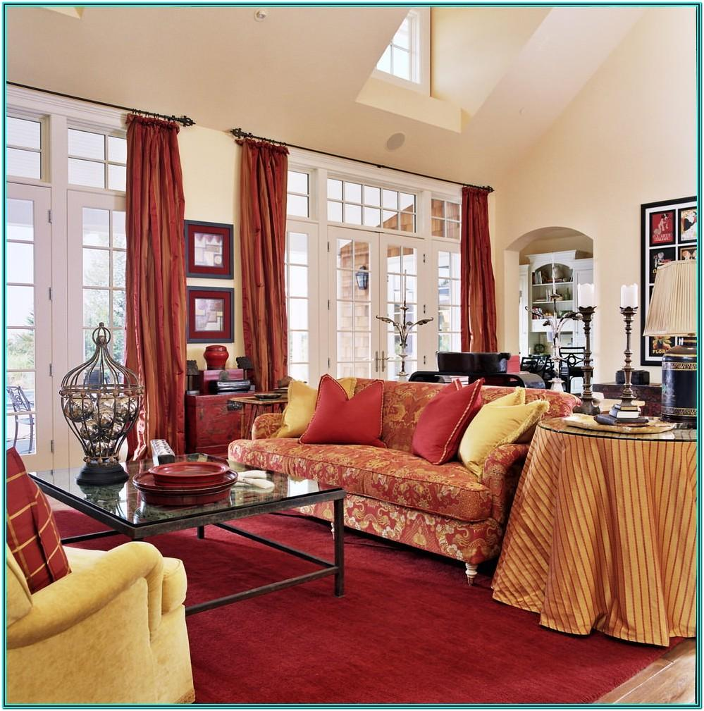 Red And Yellow Living Room Ideas
