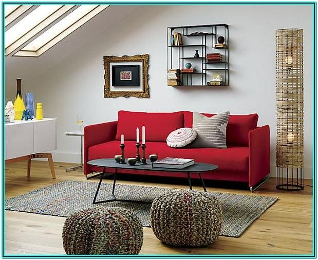 Red Couches Decorating Ideas Living Room