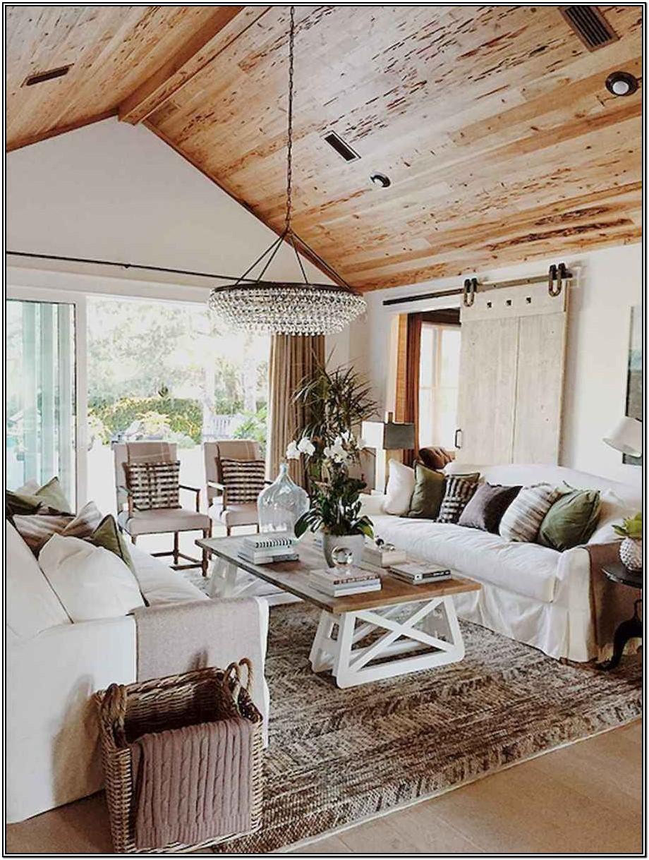 Rustic Farmhouse Modern Farmhouse Style Farmhouse Living Room Ideas