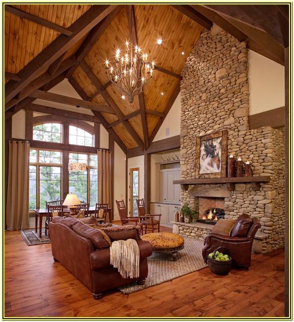 Rustic Lodge Living Room Ideas