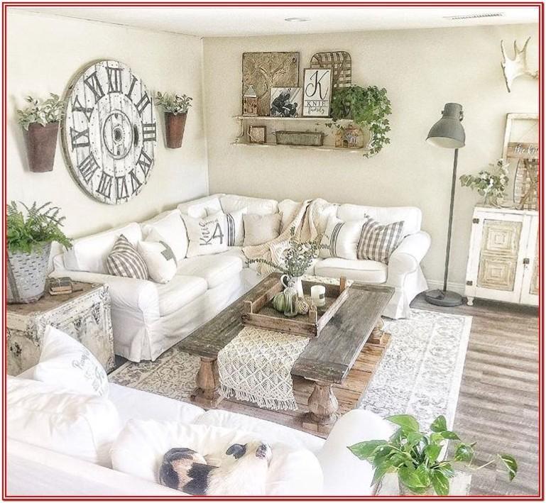 Shabby Chic Modern Farmhouse Farmhouse Living Room Ideas