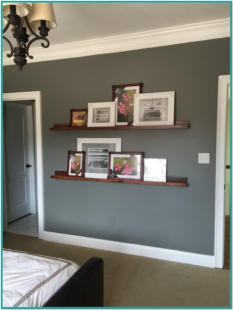 Simple Living Room Shelf Ideas