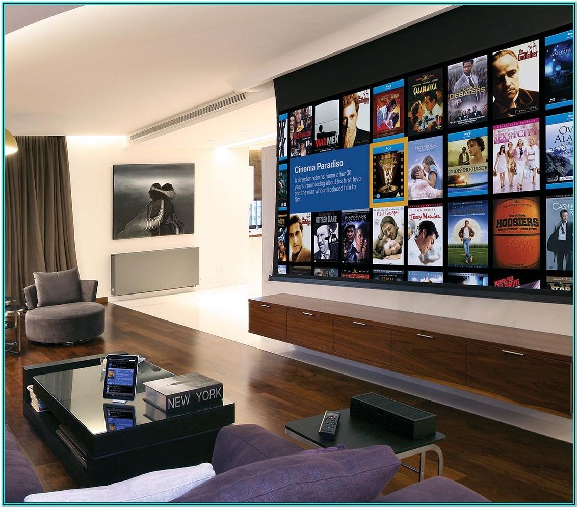 Small Living Room Projector Ideas