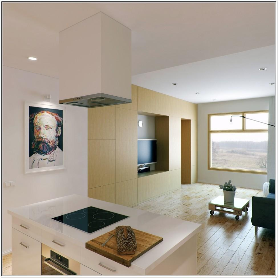 Small Living Room With Open Kitchen Ideas