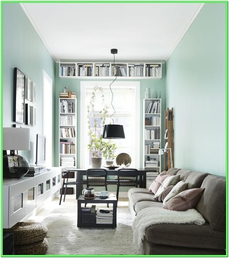 Small Narrow Living Room Design Ideas