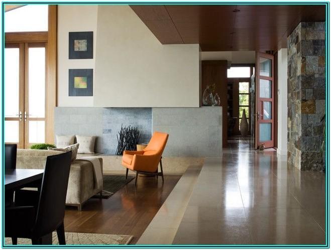 Sunken Living Room Railing Ideas