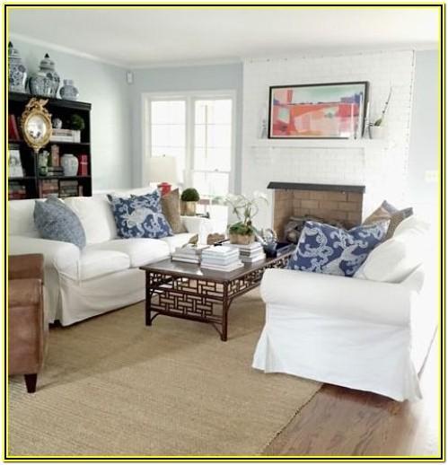 Two Loveseat Living Room Ideas