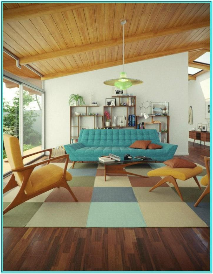 Vintage Mid Century Living Room Ideas