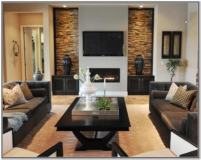 Wall Living Room Modern Interior Design Ideas