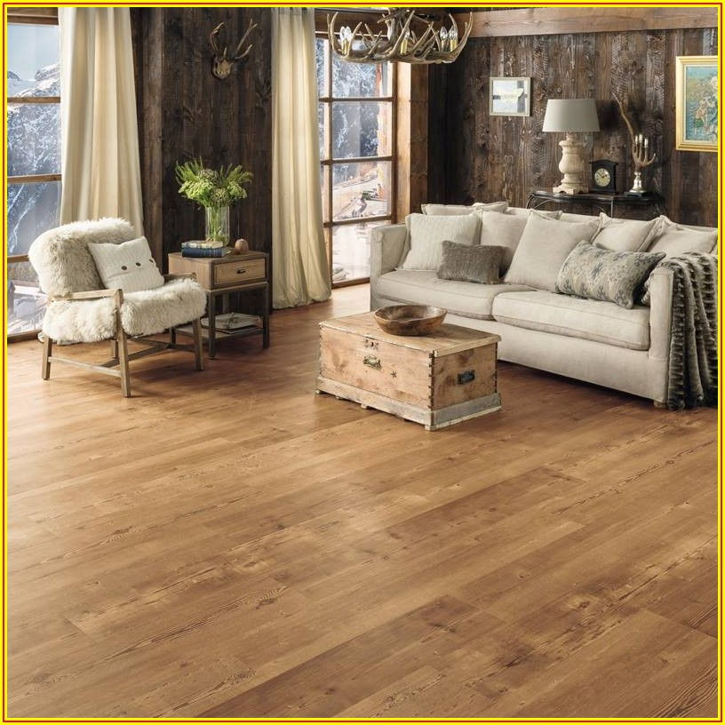 Antique Heart Pine Vinyl Plank Flooring