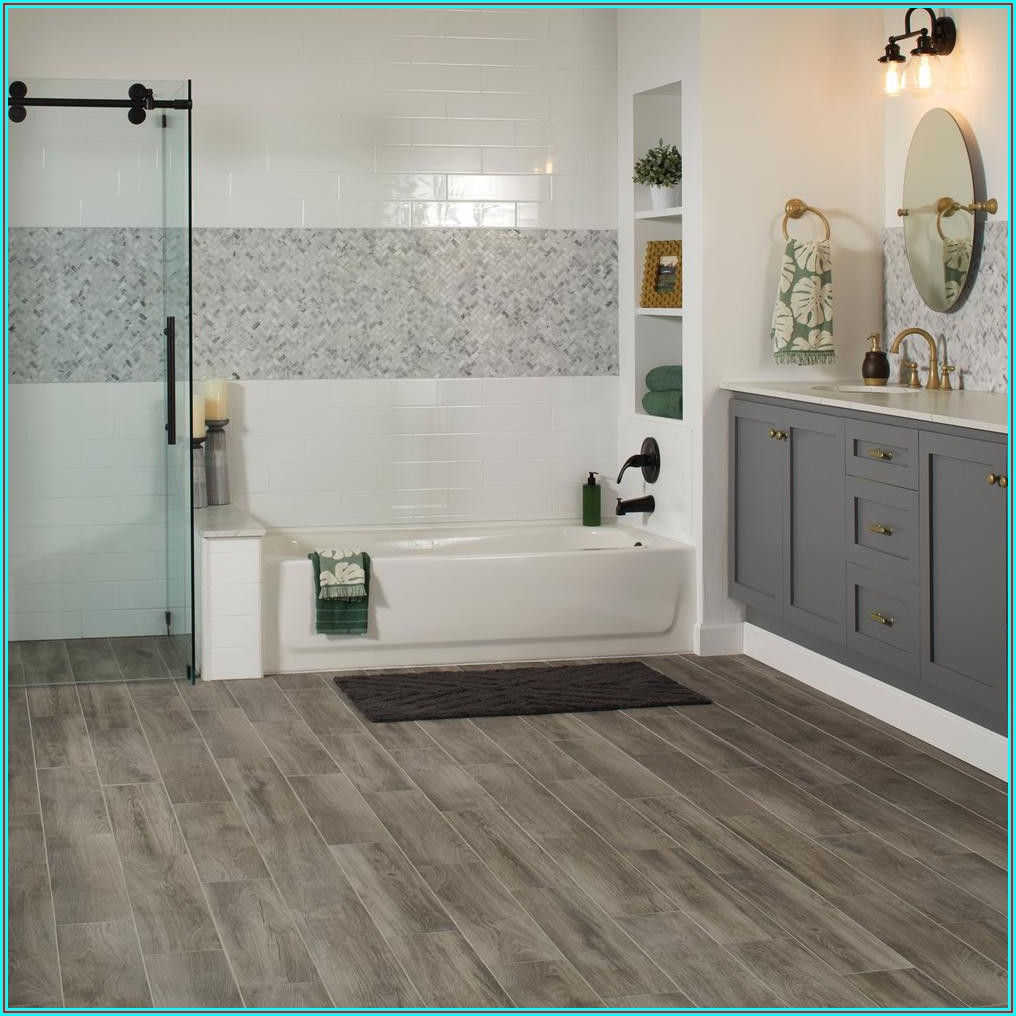Bathroom Home Depot Vinyl Flooring