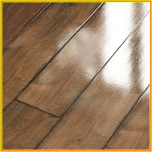 Dark Oak High Gloss Laminate Flooring