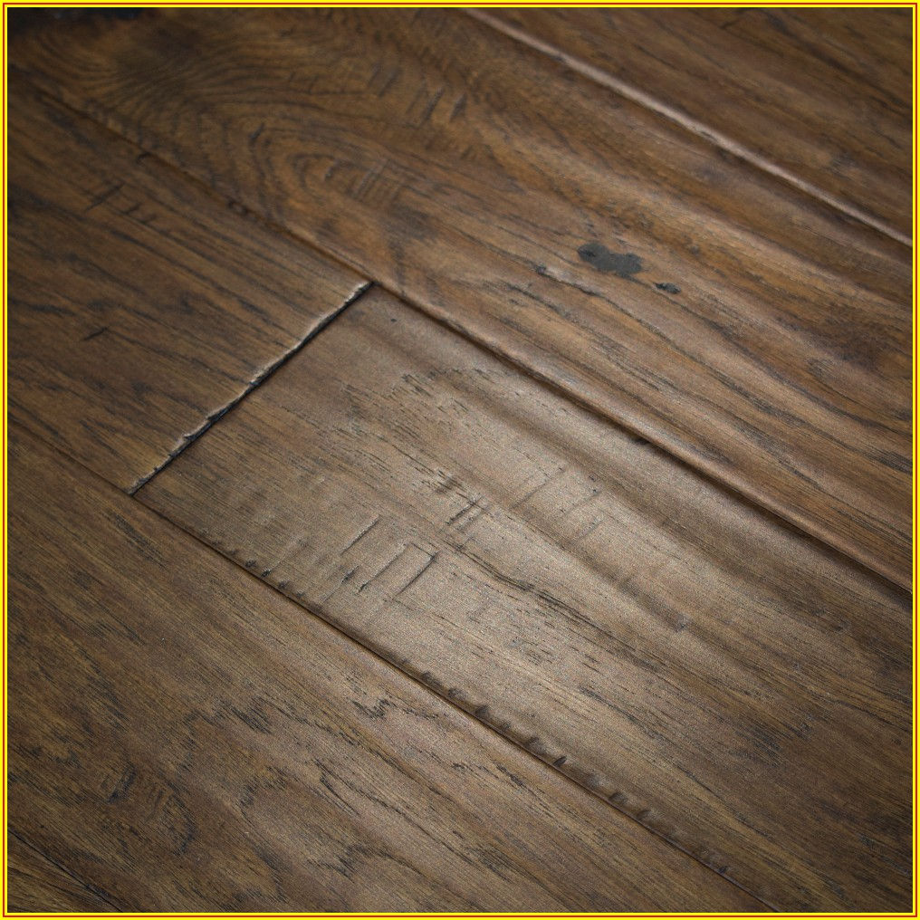 Engineered Wood Flooring Hickory Hand Scraped