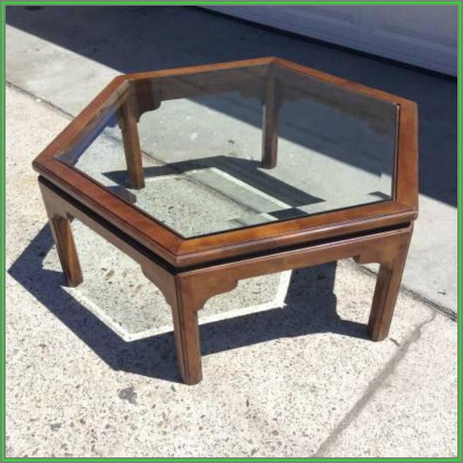 Ethan Allen Coffee Table Vintage