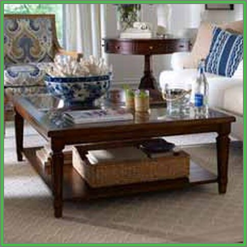 Ethan Allen Henry Coffee Table