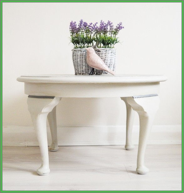 Grey Shabby Chic Coffee Table