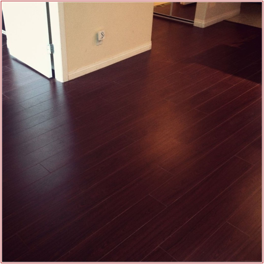 Harmonics Glueless Laminate Flooring Royal Cherry