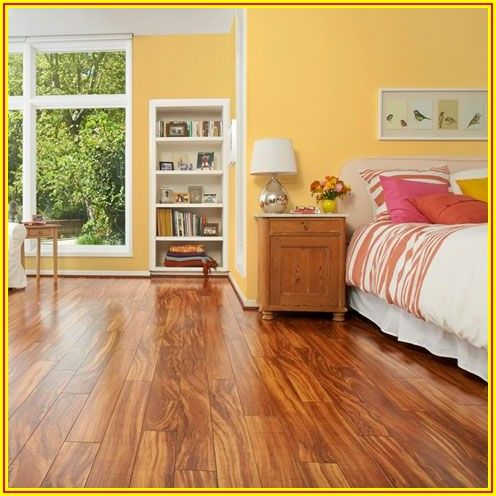 Hawaiian Curly Koa Laminate Flooring