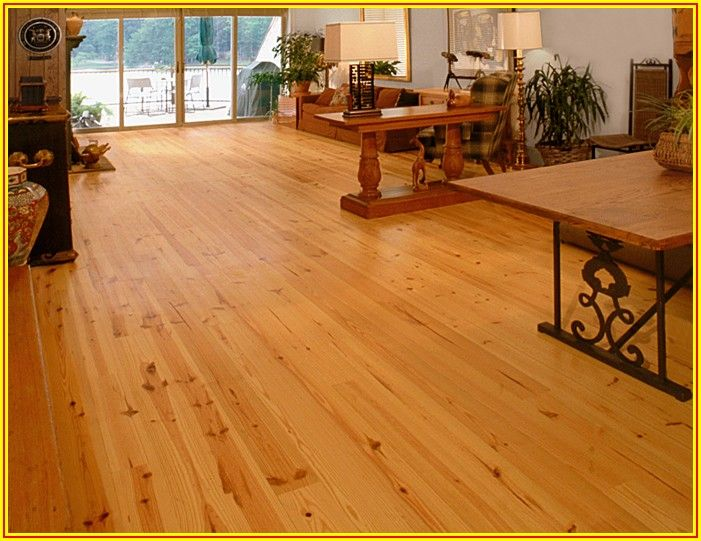 Heart Pine Engineered Wood Flooring