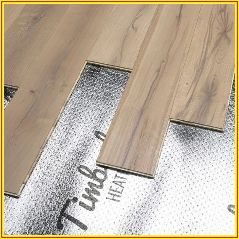 Heated Underlayment For Laminate Flooring