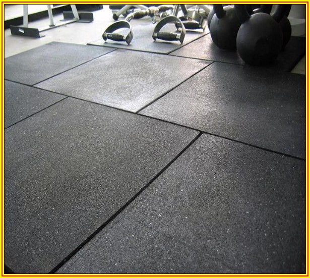 Heavy Duty Gym Flooring Tiles