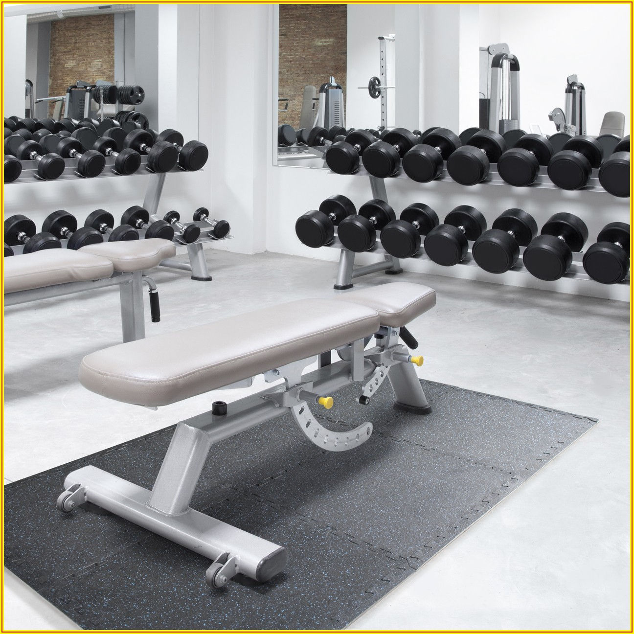 Heavy Duty Rubber Flooring Gym