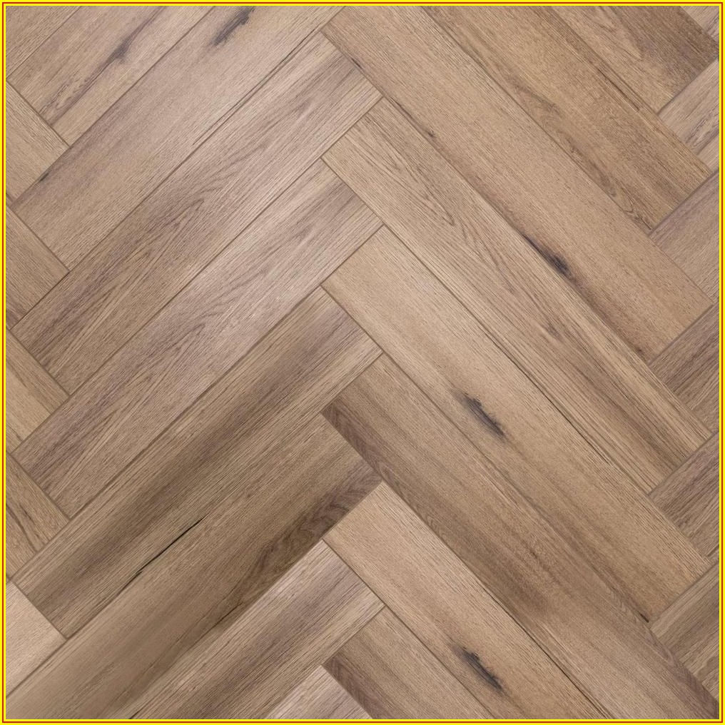 Herringbone Luxury Vinyl Plank Flooring