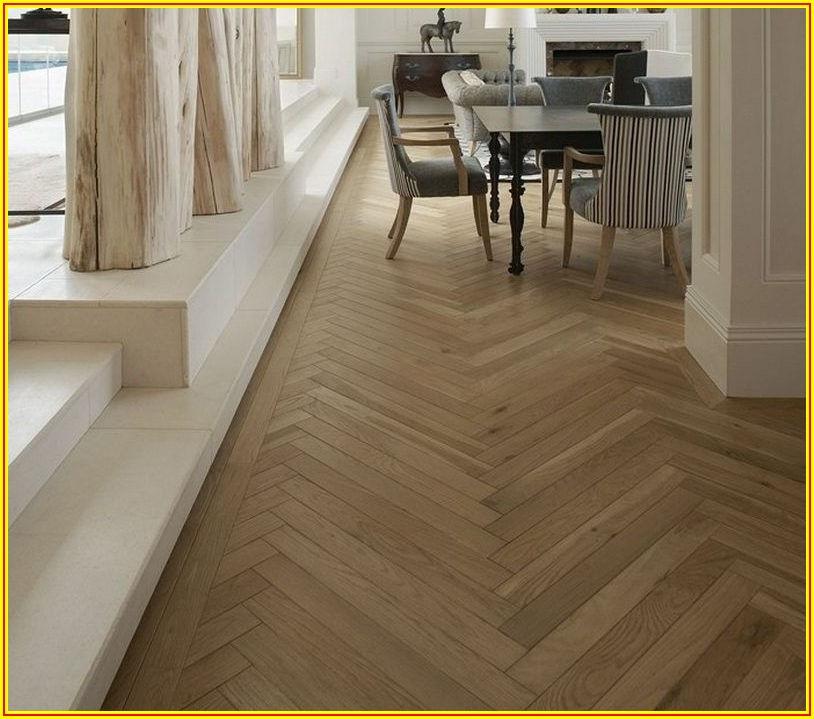 Herringbone Pattern Parquet Flooring