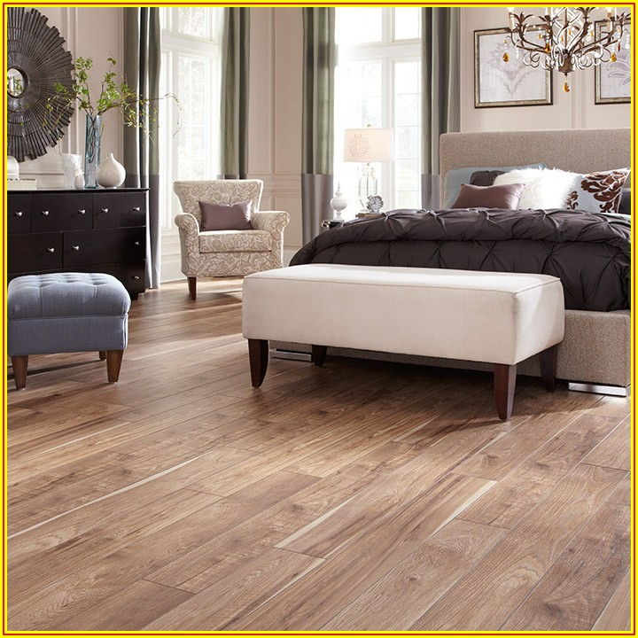 Hickory Gunstock Laminate Flooring