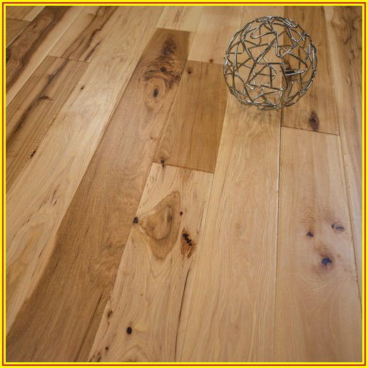 Hickory Hand Scraped Solid Hardwood Flooring