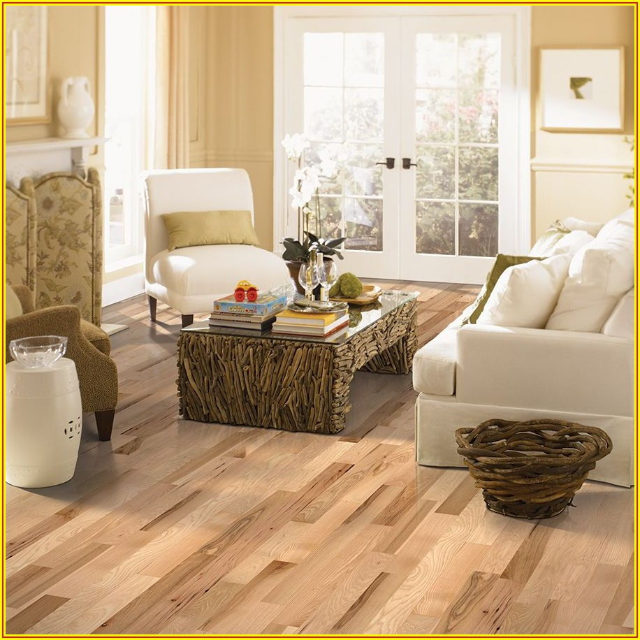 Hickory Oak Laminate Flooring