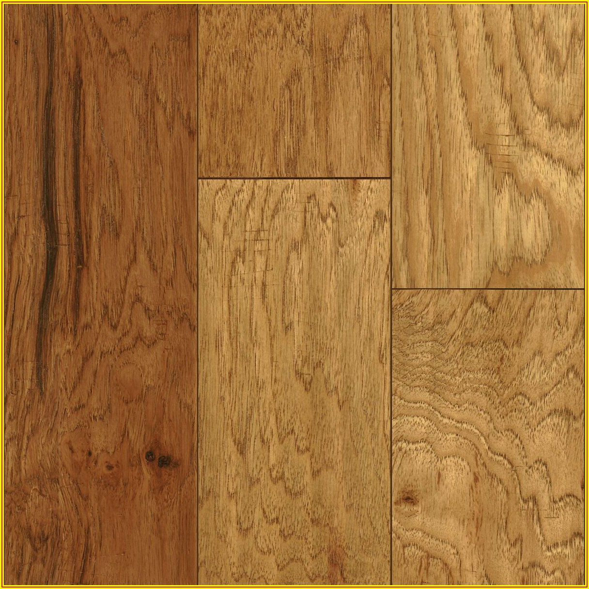 Hickory Tongue And Groove Flooring