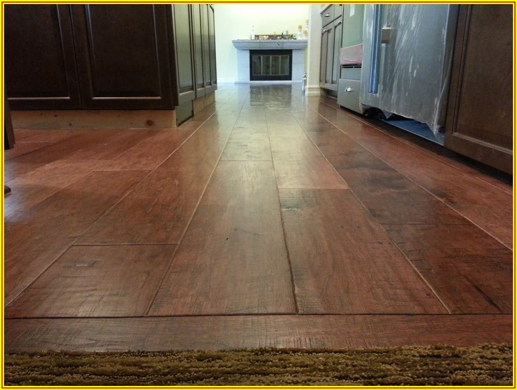 Hickory Wood Plank Flooring
