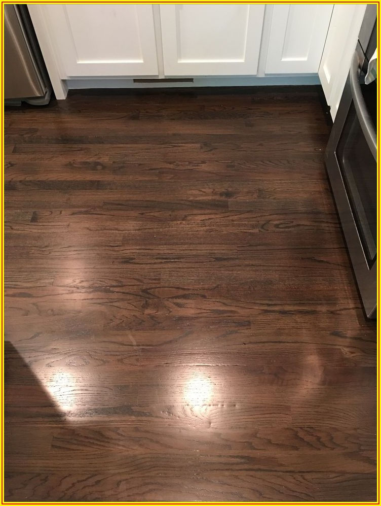 High Contrast Wood Flooring