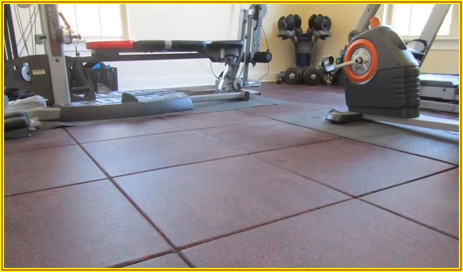 High Density Rubber Flooring