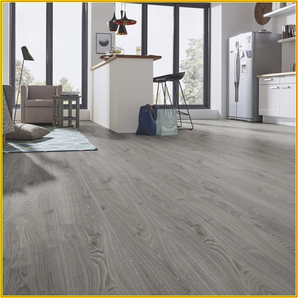 High Gloss Grey Laminate Flooring 12mm