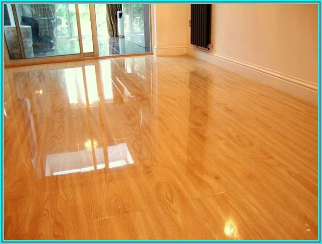 High Gloss Vinyl Plank Flooring