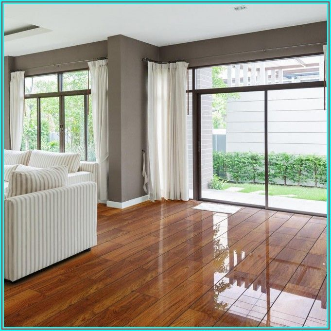High Gloss Waterproof Laminate Flooring