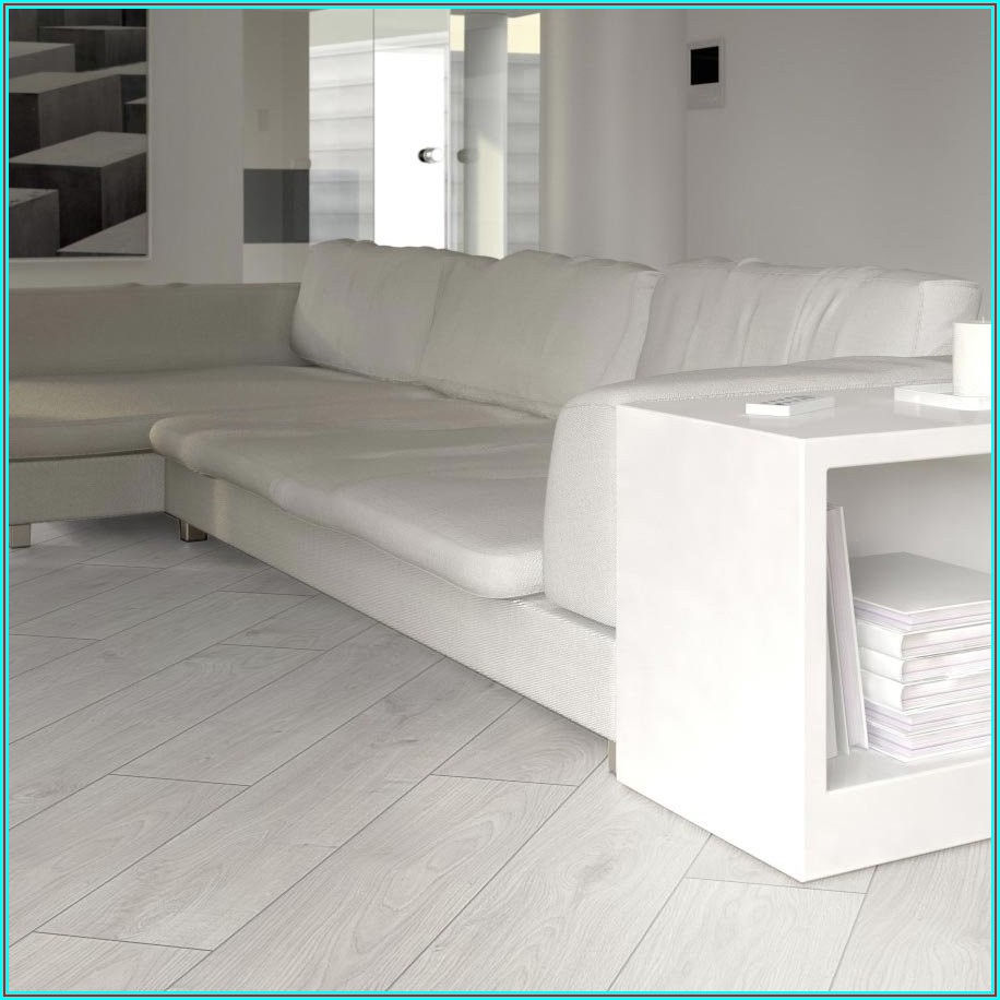 High Gloss White Vinyl Plank Flooring