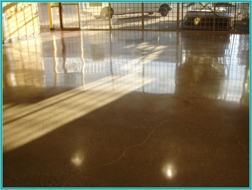 High Polished Concrete Floors